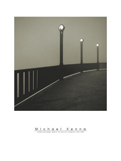 Golden Gate Bridge Study V-Michael Kenna-Art Print