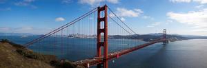 Golden Gate Bridge Viewed from Hendrik Point, San Francisco Bay, San Francisco, California, Usa