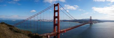 Golden Gate Bridge Viewed from Hendrik Point, San Francisco Bay, San Francisco, California, Usa--Photographic Print