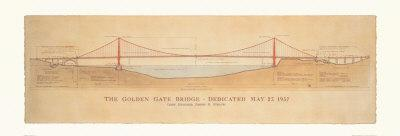 Golden Gate Bridge-Craig Holmes-Art Print