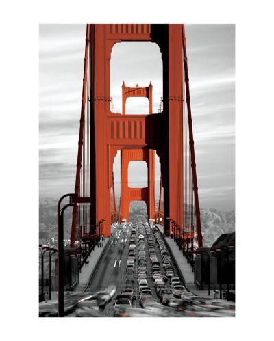 Golden Gate Bridge--Art Print
