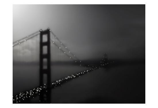 Golden Gate Bridge-Tracey Telik-Art Print