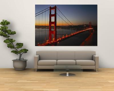 Golden Gate Bridge-Vincent James-Wall Mural