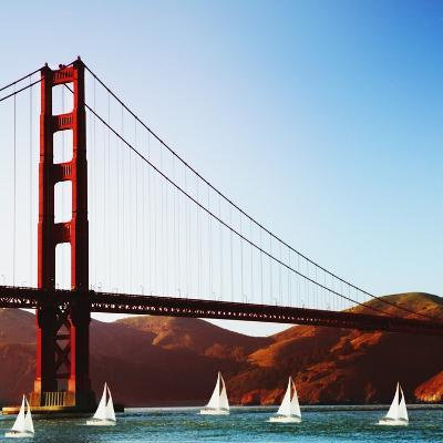 Golden Gate Bridge-JoSon-Photographic Print