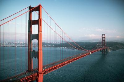 Golden Gate Bridge-Roger Ressmeyer-Photographic Print