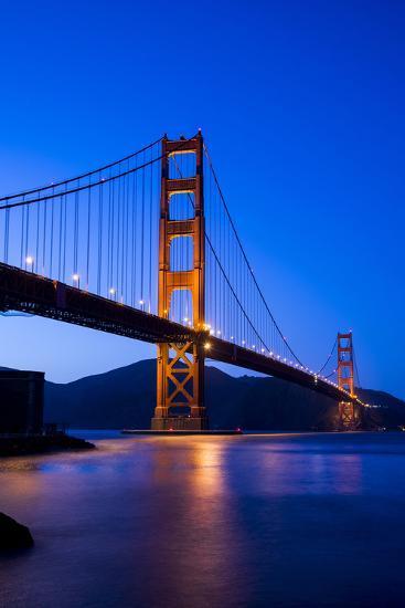 Golden Gate Bridge-John Roman Images-Photographic Print
