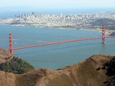 Golden Gate Bridge-Noah Berger-Photographic Print