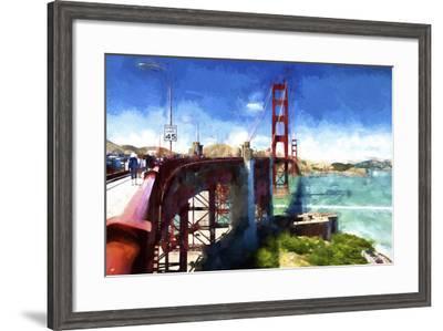 Golden Gate Bridge-Philippe Hugonnard-Framed Giclee Print