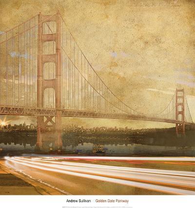 Golden Gate Parkway-Andrew Sullivan-Art Print