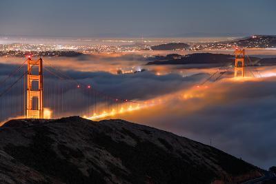 Golden Gate Pocket Resting in Fog San Francisco Bay Area-Vincent James-Photographic Print