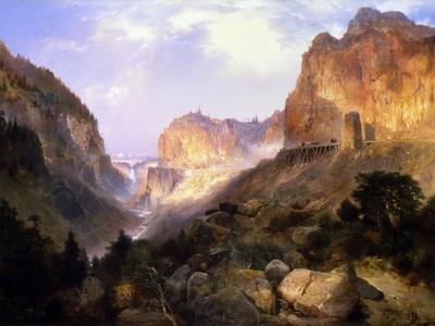 Golden Gate, Yellowstone National Park-Thomas Moran-Giclee Print