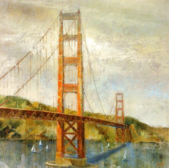 Golden Gate-Michael Longo-Art Print
