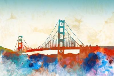 Golden Gate-Dan Meneely-Art Print