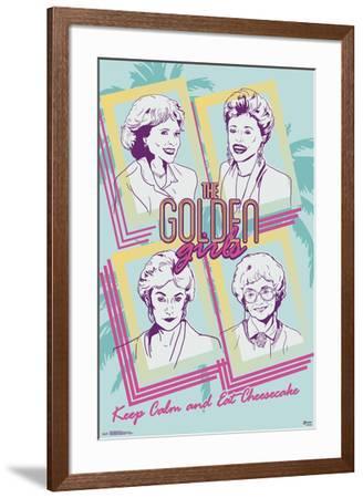 Golden Girls - Group--Framed Poster