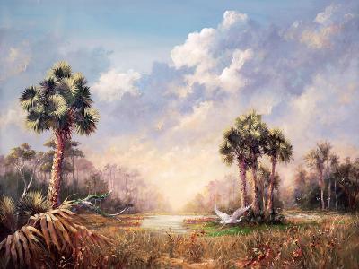 Golden Glades-Art Fronckowiak-Art Print