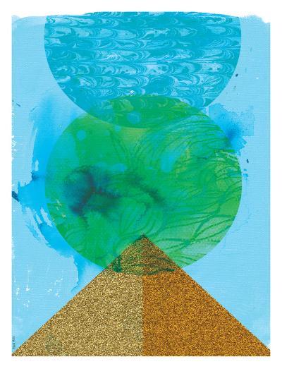 Golden Green-Paula Mills-Art Print