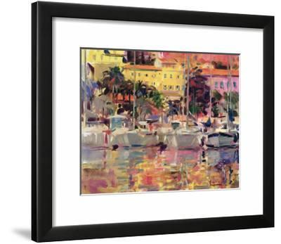 Golden Harbour Vista-Peter Graham-Framed Giclee Print