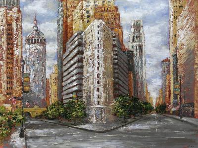 Golden High Rise-Bridges-Giclee Print