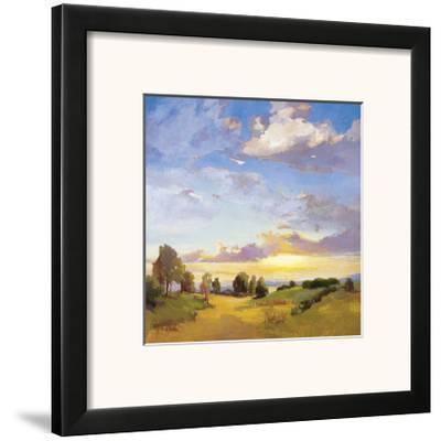 Golden Horizons-Vicki Mcmurry-Framed Giclee Print