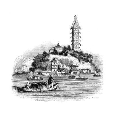 Golden Island, China, 1847- Palmer-Giclee Print