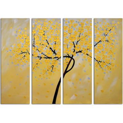 Golden Leaves Set