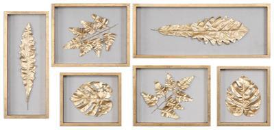 Golden Leaves Shadow Box Set