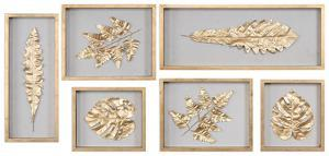 Golden Leaves Shadow Box Set