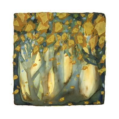 Golden Leaves-Nichola Campbell-Giclee Print