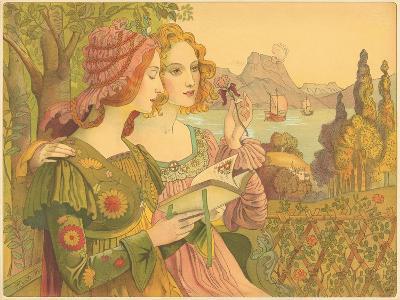 Golden Legend-Armand Point-Giclee Print