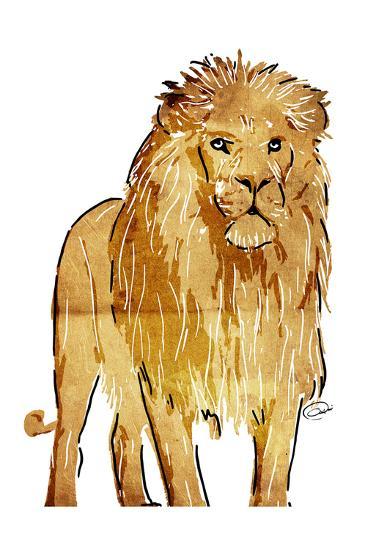 Golden Lion-OnRei-Art Print