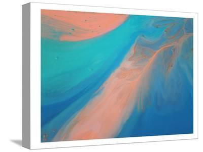 Golden Marble-Deb McNaughton-Stretched Canvas Print