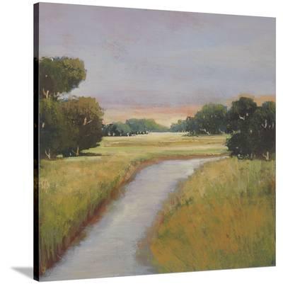 Golden Marsh-Adina Langford-Stretched Canvas Print