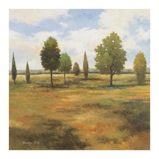 Golden Meadow I-Kanayo Ede-Art Print