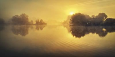 Golden Morning-David Keochkerian-Giclee Print