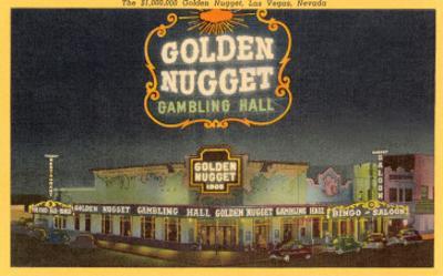 Golden Nugget Gambling Hall, Las Vegas, Nevada