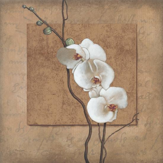 Golden Orchid I-Lee Carlson-Art Print
