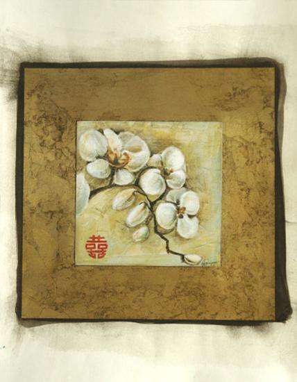 Golden Orchid II-Ethan Harper-Art Print