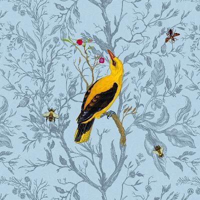 Golden Oriole-Timorous Beasties-Art Print