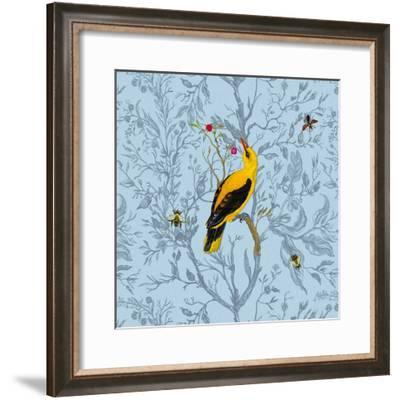 Golden Oriole-Timorous Beasties-Framed Art Print