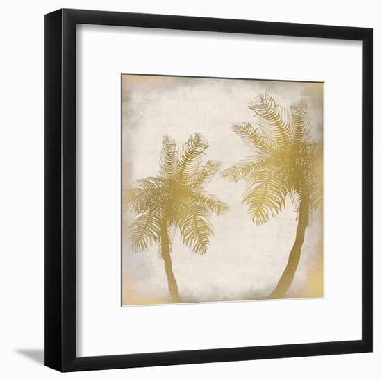 Golden Palm 2-Kimberly Allen-Framed Art Print