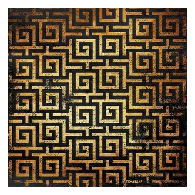 Golden Pattern-Jace Grey-Art Print