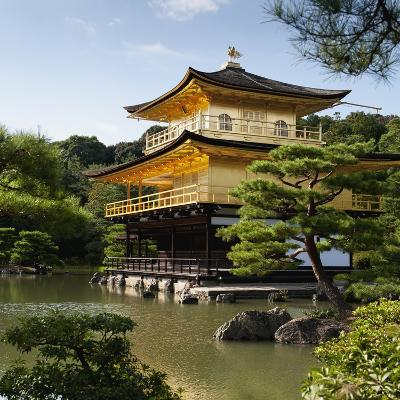 Golden Pavilion, a Buddhist Temple; Kinkaku Ji, Kyoto, Japan-Design Pics Inc-Photographic Print