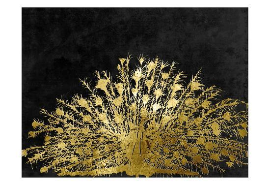 Golden Peacock 2-Sheldon Lewis-Art Print