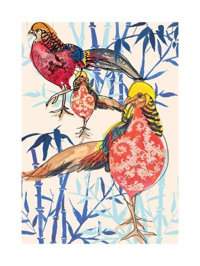 Golden Pheasant, 2013-Anna Platts-Giclee Print