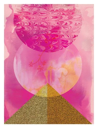 Golden Pink-Paula Mills-Art Print