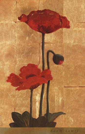 Golden Poppy II-Adam Lewis-Art Print