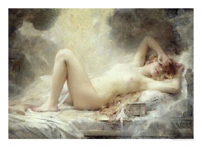 Golden Rain-Leon Francois Comerre-Giclee Print