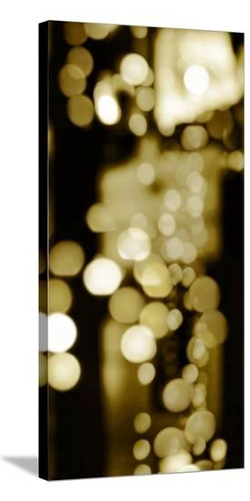 Golden Reflections Triptych II-Kate Carrigan-Stretched Canvas Print