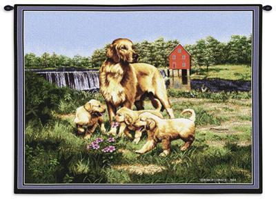 Golden Retreiver Family