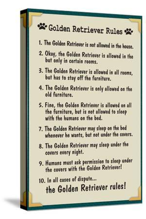 Golden Retreiver House Rules